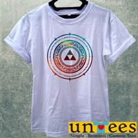 The Legend of Zelda Galaxy Aztec Women T Shirt