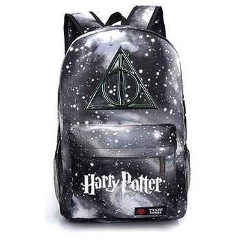 Boys Backpack Bag Harry Potter school bag  student school bag Notebook  Leisure Daily  AT_61_4