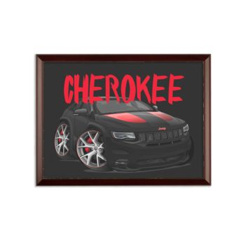 Jeep Grand Cherokee SRT Sublimation Wall Plaque