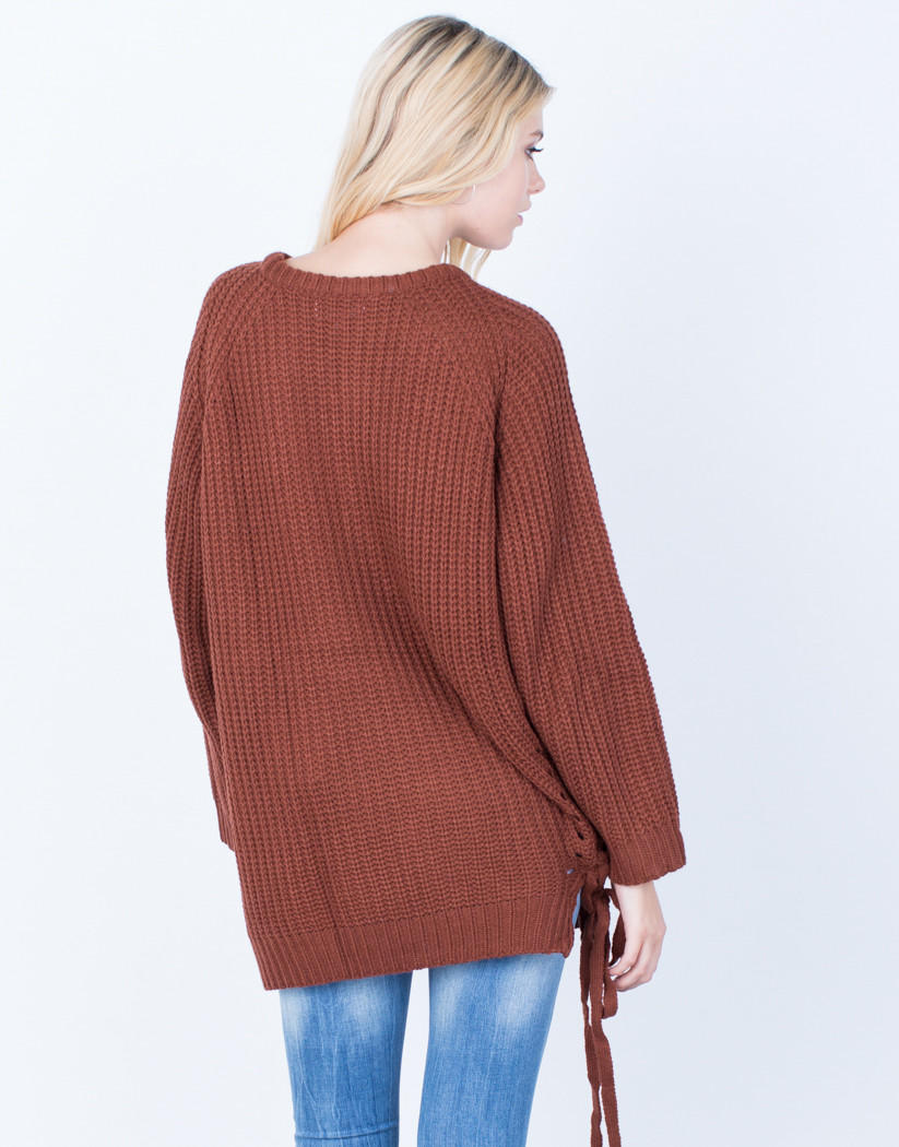 All Tied Up Sweater from 2020AVE  c8c7aaa05