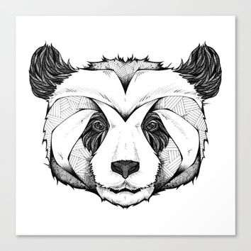 Panda Canvas Print by Andreas Preis