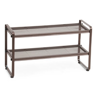 2 Tier Mesh Shoe Rack - Storage & Organization - T.J.Maxx