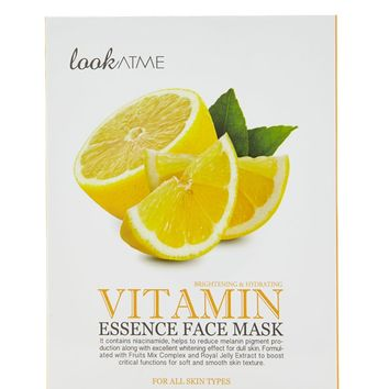 Vitamin Face Mask Set