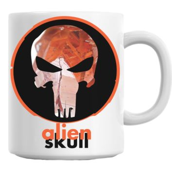 Punisher Alien Skull Mug