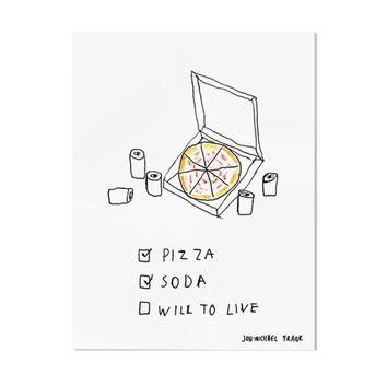 Will To Live Art Print
