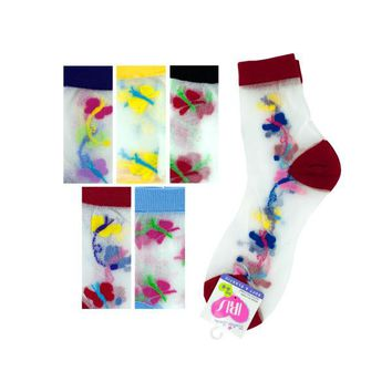 Hi Cut Argyle 6-8 Socks (pack of 36)