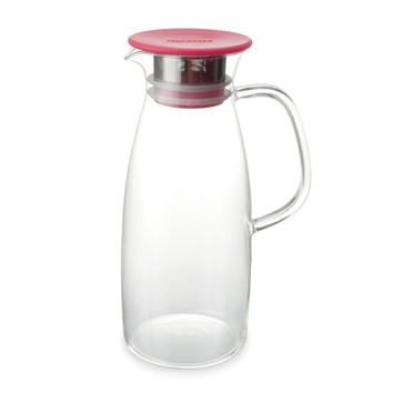 50 Ounce Glass Iced Tea Pitcher (Jug) - Hot or Cold Steeping