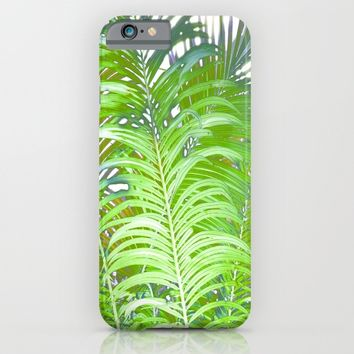 Palm Leaves iPhone & iPod Case by Art64 | Society6