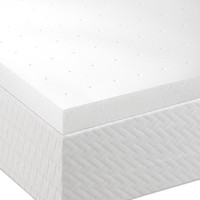 King Size 2-inch Thick Memory Foam Mattress Topper