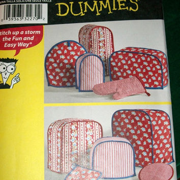Simplicity Appliance Cover Pattern