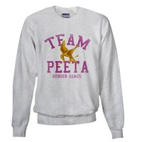 Team Peeta Sweatshirt by FinestShirtsAndGifts