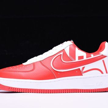 Nike Air Force 1 Low Force Pack Red White To Buy 823511-608 - Beauty Ticks