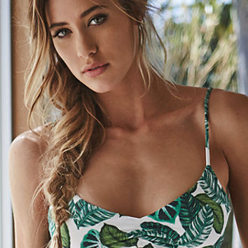 LA Hearts Ladder Back Floral Bralette Bikini Top at PacSun.com