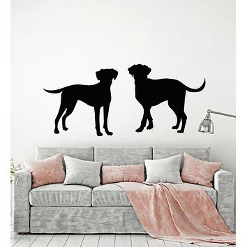Vinyl Wall Decal Dalmatians Dog Animals Pet Grooming Stickers Mural (g2689)