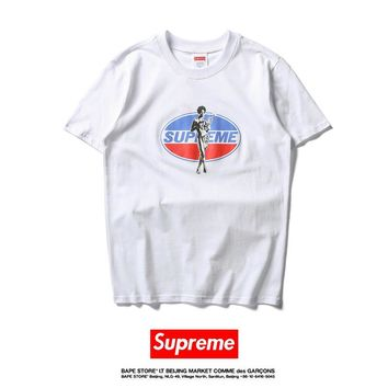 Cheap Women's and men's supreme t shirt for sale 85902898_0076