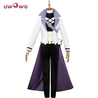 Blake Belladonna Cosplay RWBY White Season 4 Coat Black Trousers Battle Uniform Uwowo Costume