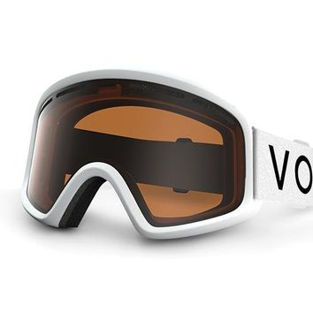 VonZipper - Trike White Snow Goggles / Bronze Lenses