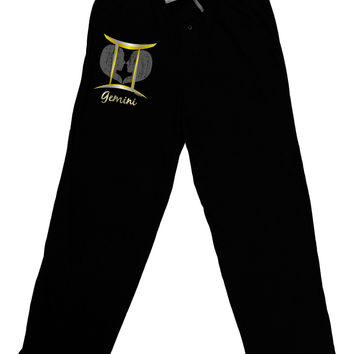 Gemini Symbol Adult Lounge Pants