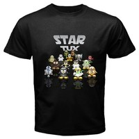 star tux black tshirt Size S M L XL 2XL 3XL 4XL and 5XL