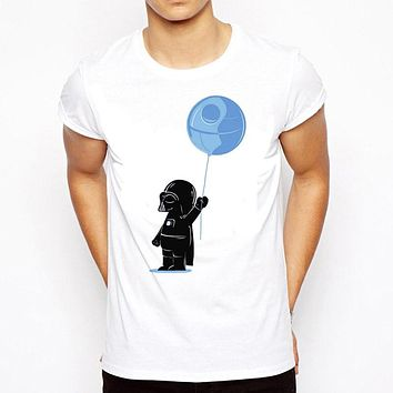 funny Printed Star Wars T-Shirt robot shirt Men's sleeve T shirt Tops Fashion Tees