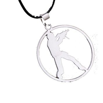 Metal Movement Pendant Necklace For Women