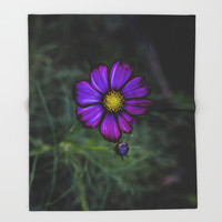 Floral autumn Throw Blanket by VanessaGF