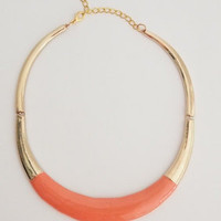 Necklace Aro Orange