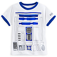 R2-D2 Ringer Tee for Kids - Star Wars