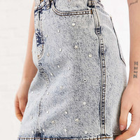 BDG Star Party Embellished Denim Mini Skirt - Urban Outfitters