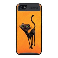 Black Cat of The Dead iPhone 5 Cover from Zazzle.com