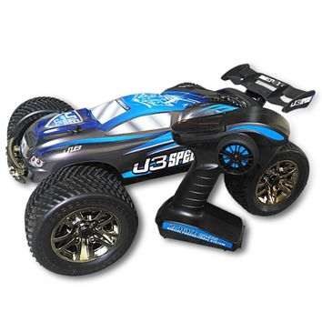 JLB Racing J3SPEED RC Cars 1:10 RC Off-Road Truggy Metal Chassis Big Bore Shock Absorber All-Terrain Tire Remote Control Car Toy