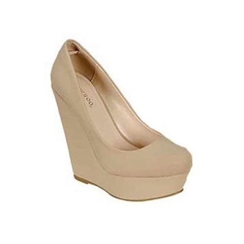 Our Got To Have Nude Wedges
