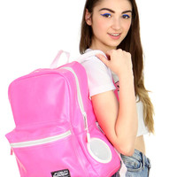 PINK STEREO BACKPACK