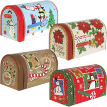Bulk Mailbox-Shaped Nesting Christmas Gift Boxes at DollarTree.com