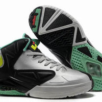 nike lebron ambassador v 5 wolf grey and tourmaline and black university red mens shoes