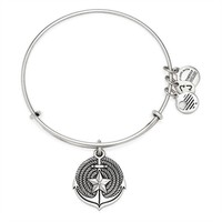 Alex and Ani Anchor Charm Bangle - Rafaelian Silver Finish