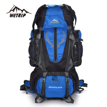 Large capacity Rucksacks camping sports bags 85L Outdoor Backpack Travel Mountain climbing backpacks Hiking