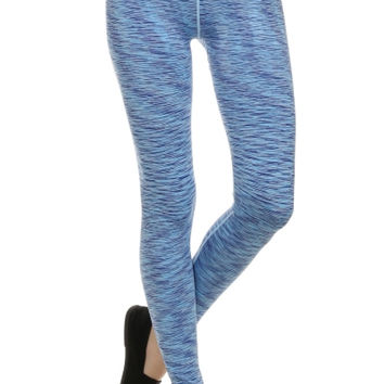 Space Dyed High Waisted Yoga Leggings