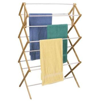 Mega Fir Wood Clothes Drying Rack