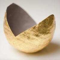 Gold Point Vessel by upintheairsomewhere on Etsy