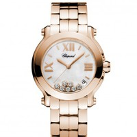 Chopard Happy Sport II Ladies Quartz Watch 277472-5002