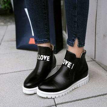 Fashion Street Style Ankle Boot
