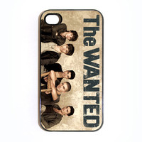 Apple iPhone 4 4G 4S  Case Skin Cover The Wanted Boy Band Available in Black or White Hard Case.