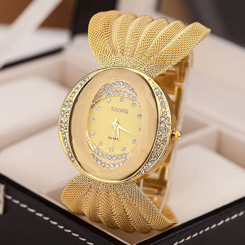 Mesh Ladies Watch for the Glamour Girl