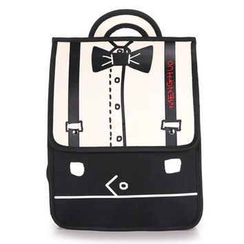 Japanese Anime Bag Backpacks For Teenage Girls Women Oxford Fashion Stitching Bow  Backpacks School Shoulders Student Bags Casual Bag Book Bag AT_59_4