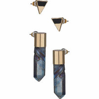 Triangle and Shard Earrings Multi-Pack - Multi