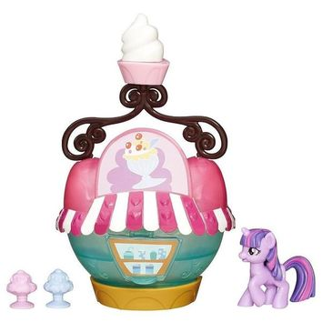 My Little Pony Ice Cream Stand w. Twilight Sparkle Story Pack Playset