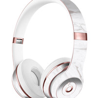Mixtured Gray 199 Textured Marble Full-Body Skin Kit for the Beats by Dre Solo 3 Wireless Headphones