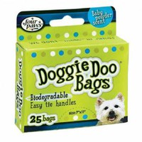 Four Paws Doggie Doo Bags 25 count