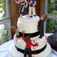Custom cake toppers by clayfigurines.com